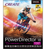 PowerDirector18 ultimate suite
