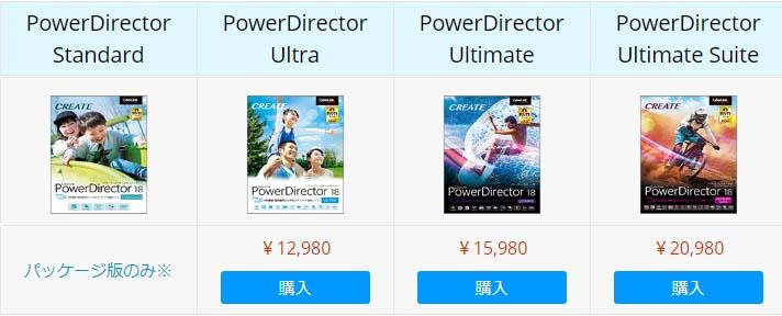 PowerDirector通常版